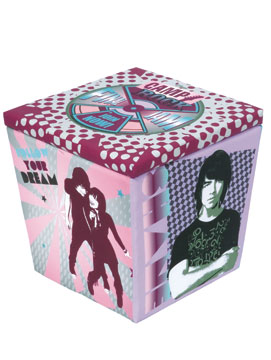 This cool storage ottoman could be yours if you enter and we pull your name!